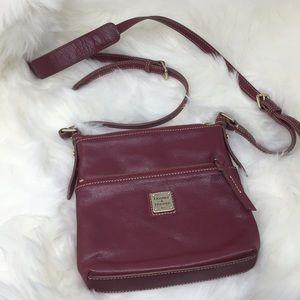 Dooney & Bourke Crossbody Pebble Leather Purse